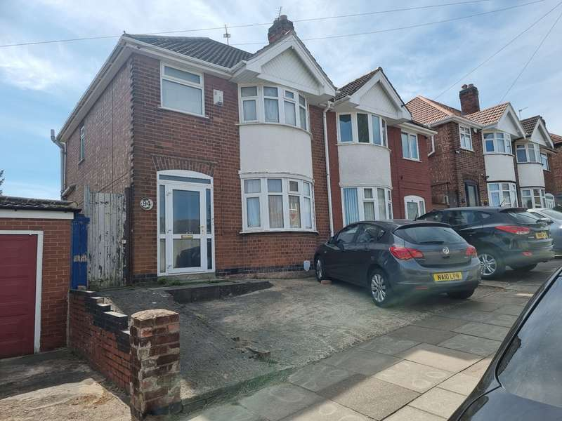 3 Bedrooms Semi Detached House for sale in Somerset Avenue, Leicester, LE4
