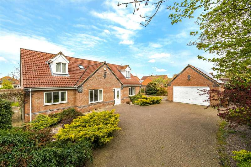 4 Bedrooms Detached House for sale in Leasingham Lane, Ruskington, Sleaford, NG34