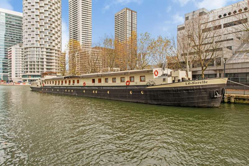 6 Bedrooms House Boat Character Property for sale in Thames Quay, Canary Wharf, E14