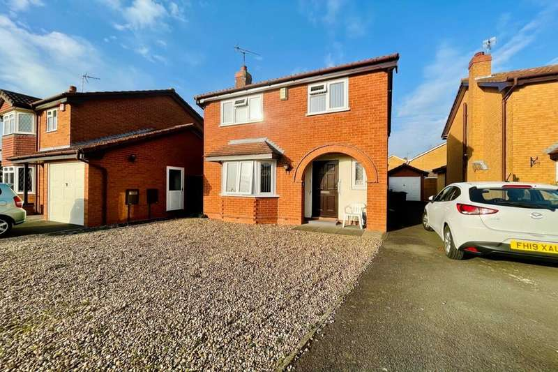 4 Bedrooms Detached House for sale in Pepper Drive, Quorn, Loughborough, LE12
