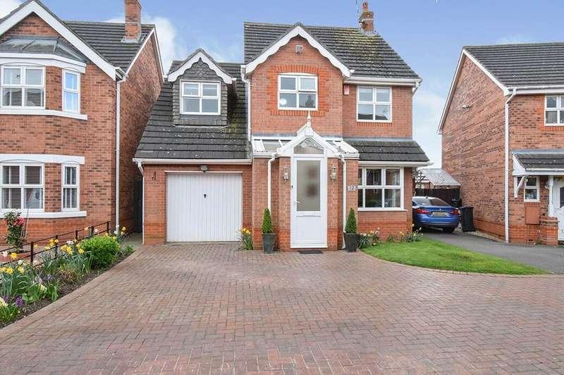 4 Bedrooms Detached House for sale in Tillingham Road, Leicester, LE5
