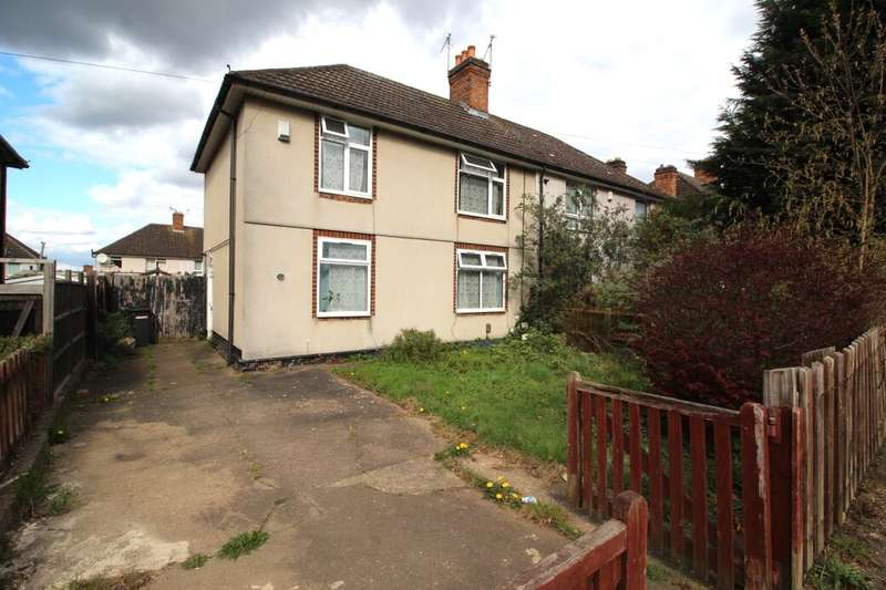 3 Bedrooms Semi Detached House for sale in Stonesby Avenue, Leicester, LE2