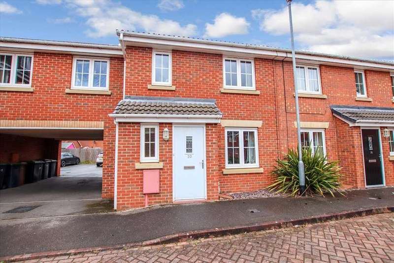 3 Bedrooms Terraced House for sale in Arvina Close, North Hykeham