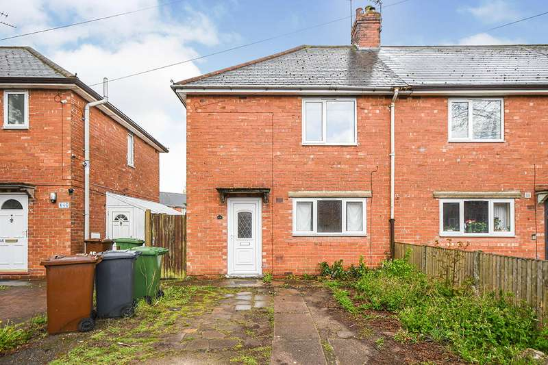 2 Bedrooms Semi Detached House for sale in Lake View Road, Lincoln, Lincolnshire, LN6