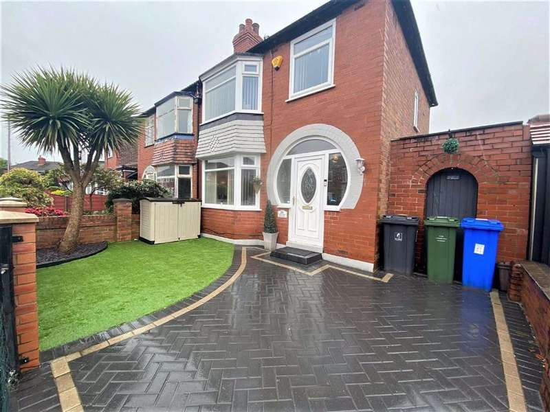 3 Bedrooms Semi Detached House for sale in Repton Avenue, Denton, Manchester