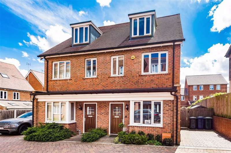 3 Bedrooms Semi Detached House for sale in David Wildman Lane, Mill Hill