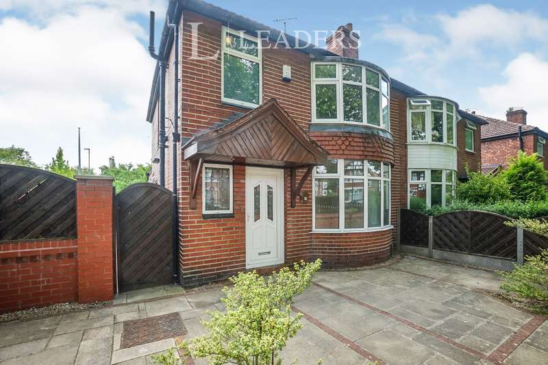 3 Bedrooms Semi Detached House for rent in Mauldeth Road, Withington, Manchester, M20 4WF