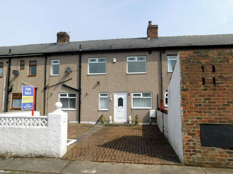 3 Bedrooms Terraced House for sale in AUTON FIELD TERRACE, BEARPARK, Durham City : Villages West Of, DH7 7AS