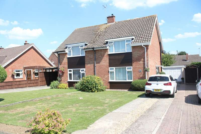 3 Bedrooms Semi Detached House for sale in Chosen Way, Hucclecote, Gloucester, GL3