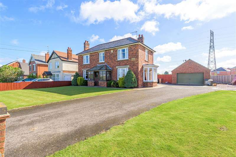 4 Bedrooms Detached House for sale in Wyberton Low Road, Boston