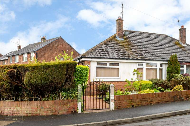 2 Bedrooms Semi Detached Bungalow for sale in Brellafield Drive, High Crompton, Shaw, Oldham, OL2