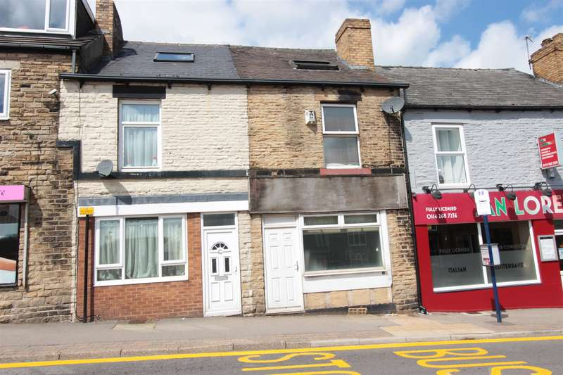 2 Bedrooms Terraced House for sale in Northfield Road, Crookes, Sheffield, S10 1QU