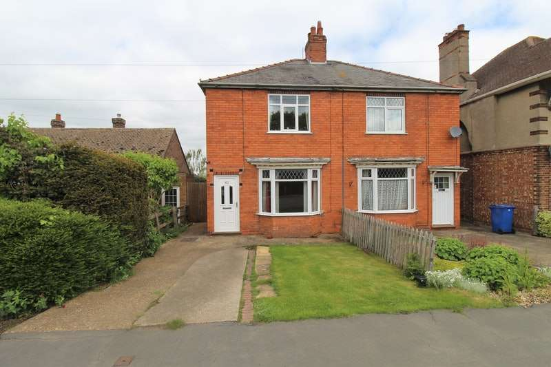 2 Bedrooms Semi Detached House for sale in Station Road, Lincoln, Lincolnshire, LN3