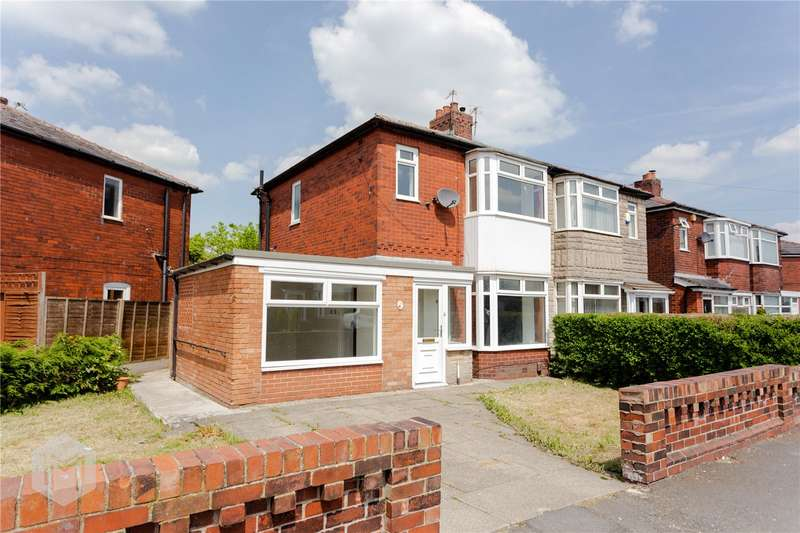 3 Bedrooms Semi Detached House for sale in Broxton Avenue, Bolton, BL3