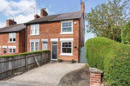 2 Bedrooms Semi Detached House for sale in Zion Hill, Coleorton, Coalville, Leicestershire