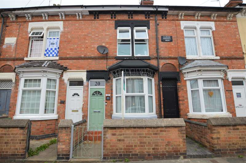 2 Bedrooms Terraced House for sale in Timber Street, Wigston, LE18 4QF