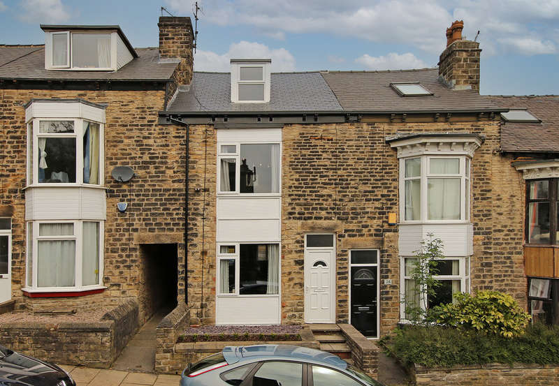 3 Bedrooms Terraced House for sale in Aldred Road, Crookes