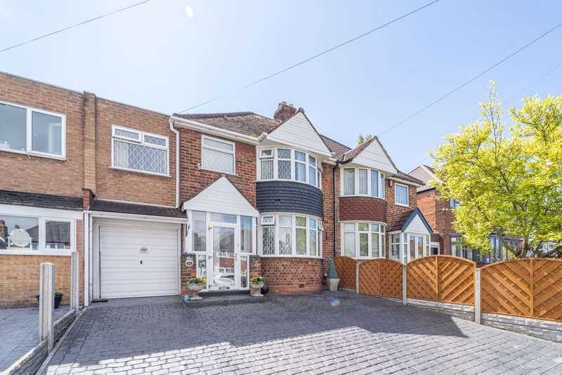 3 Bedrooms Semi Detached House for sale in Manor House Lane, Yardley