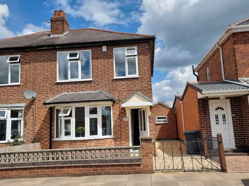 3 Bedrooms Semi Detached House for sale in Melton Avenue, Leicester, LE4