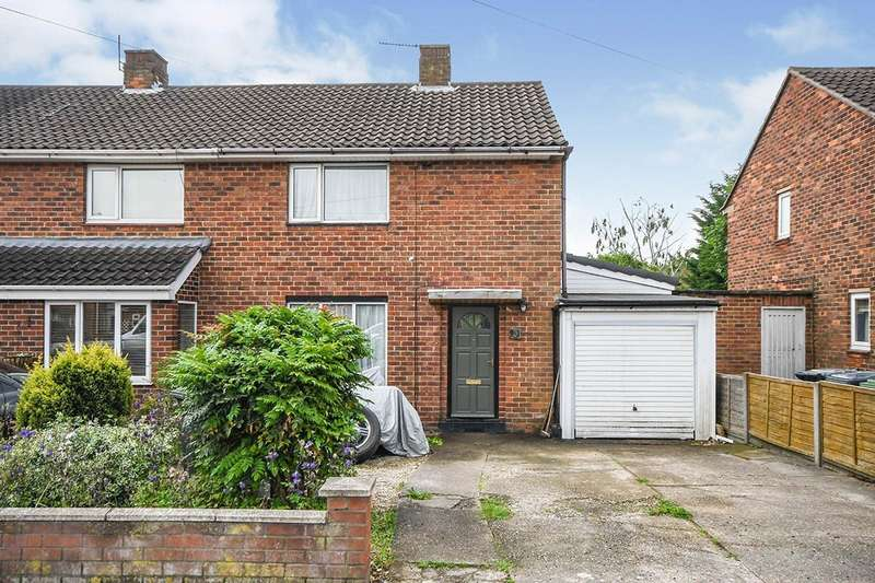 2 Bedrooms Semi Detached House for sale in Woodhall Drive, Lincoln, Lincolnshire, LN2