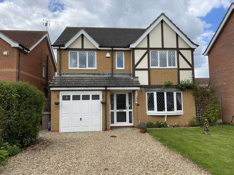4 Bedrooms Detached House for rent in Anglia Close, Sleaford