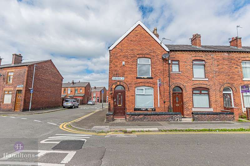 2 Bedrooms End Of Terrace House for sale in Thirlmere Street, Leigh, Greater Manchester. WN7 4DX