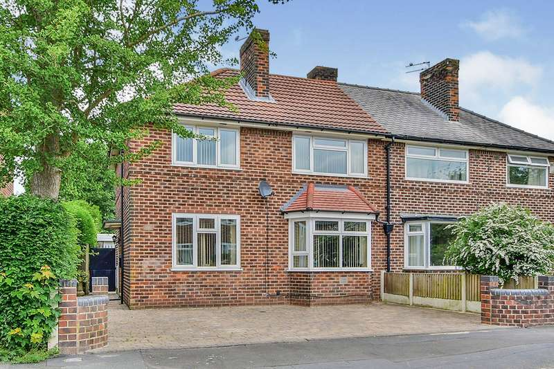 3 Bedrooms Semi Detached House for sale in Lawton Moor Road, Manchester, Greater Manchester, M23