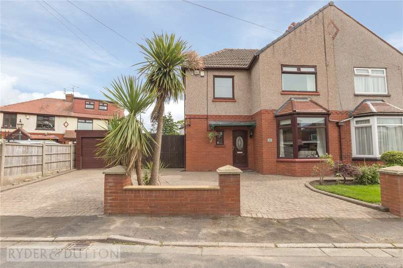 3 Bedrooms Semi Detached House for sale in Home Drive, Alkrington, Middleton, Manchester, M24