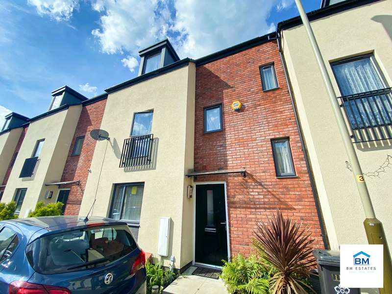 4 Bedrooms Terraced House for sale in Moccasin Avenue, Leicester, LE4
