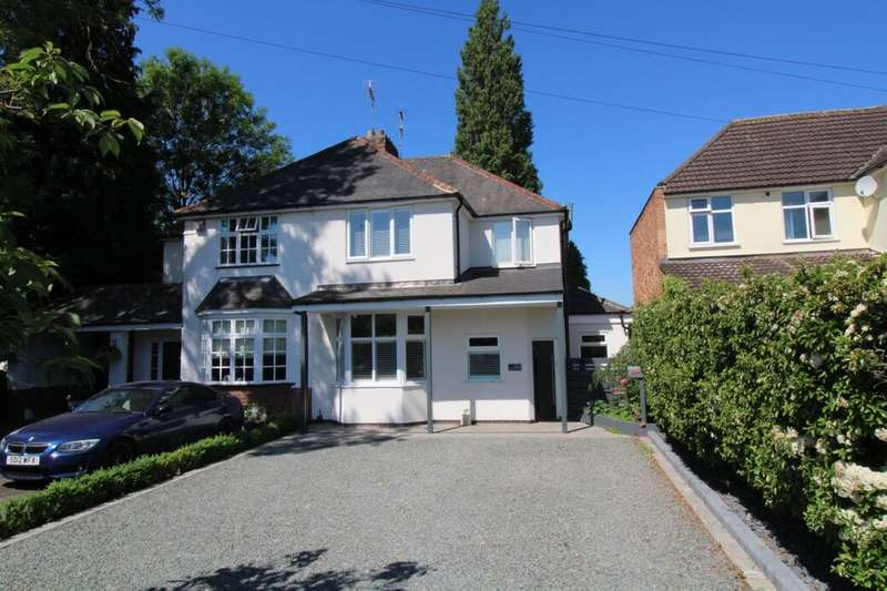 3 Bedrooms Semi Detached House for sale in Leicester Road, Glen Parva, Leicester, LE2