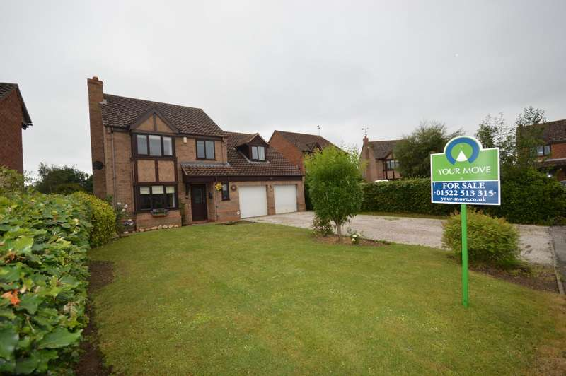 5 Bedrooms Detached House for sale in Beaver Close, Skellingthorpe, Lincoln, Lincolnshire, LN6