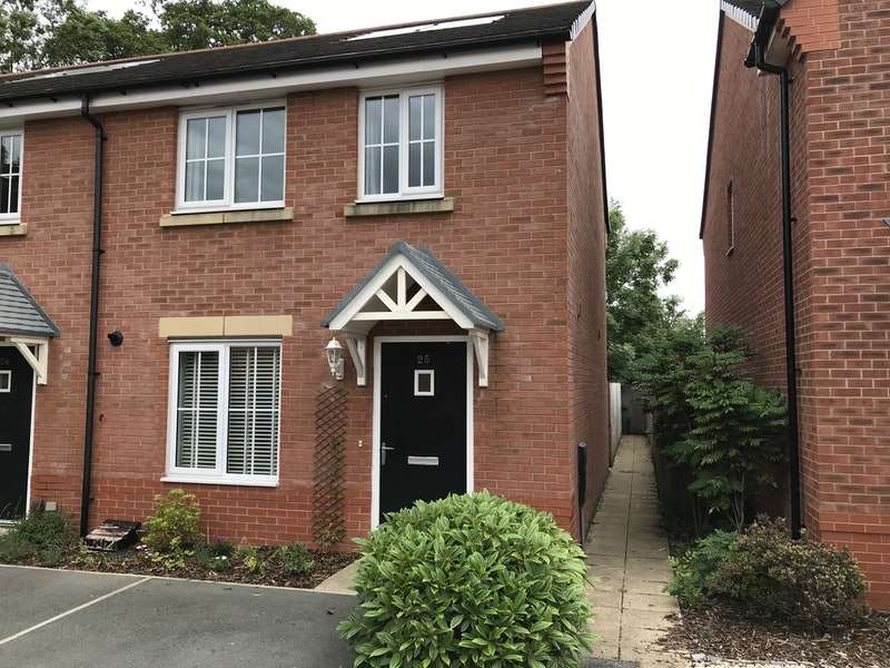 2 Bedrooms Semi Detached House for sale in Whinfell Close, Leyland, Lancashire, PR25