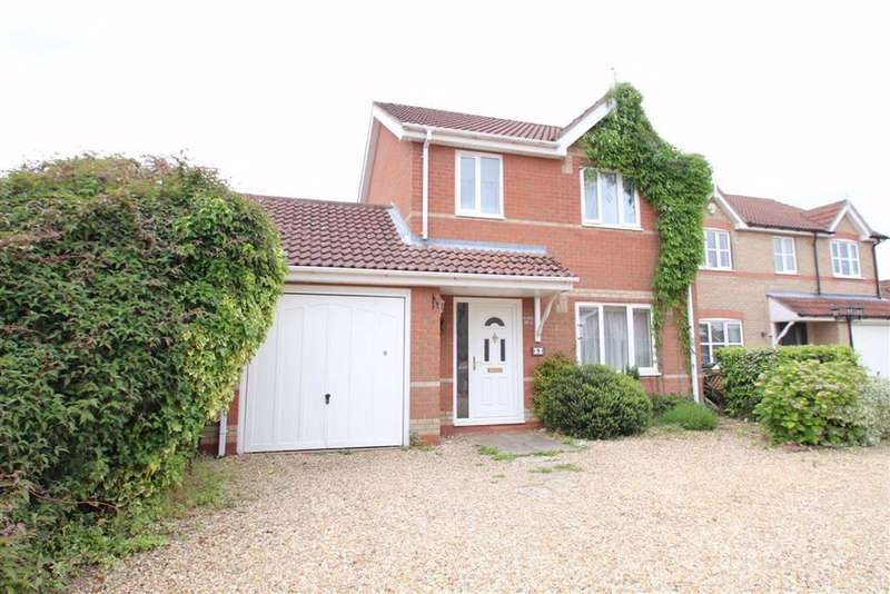 3 Bedrooms Detached House for sale in Zara Close, Boston