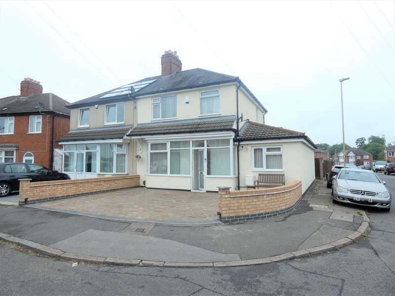 4 Bedrooms Semi Detached House for sale in The Circle, North Evington, Leicester