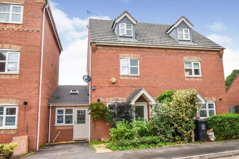 4 Bedrooms Semi Detached House for sale in Saxthorpe Road, Hamilton, Leicester, LE5