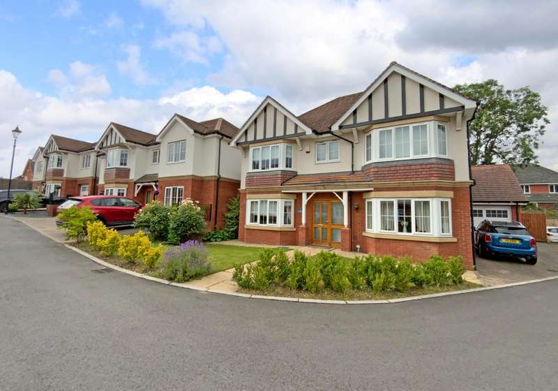 4 Bedrooms Detached House for sale in Abbot Close, Kirby Muxloe, Leicester