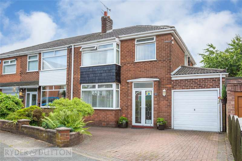 3 Bedrooms Semi Detached House for sale in Dene Brow, Denton, Manchester, M34