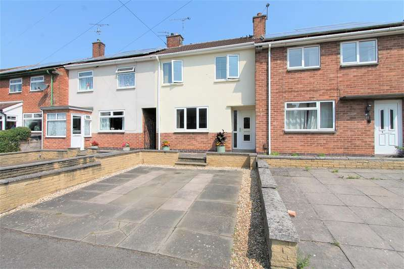 3 Bedrooms Terraced House for sale in Eddystone Road, Thurnby Lodge, Leicester LE5