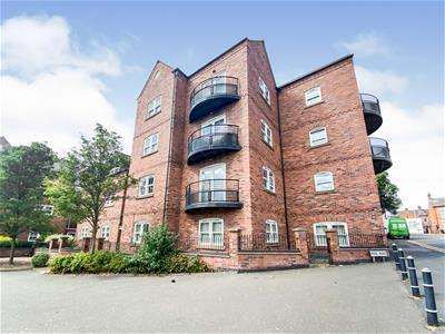 3 Bedrooms Flat for sale in The Fosse Building, Tetuan Road, Leicester