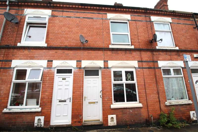 2 Bedrooms Terraced House for sale in Herschell Street, Leicester, LE2