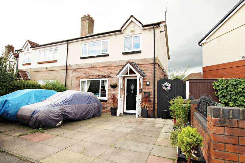 3 Bedrooms Semi Detached House for sale in Trent Grove, Leigh, WN7