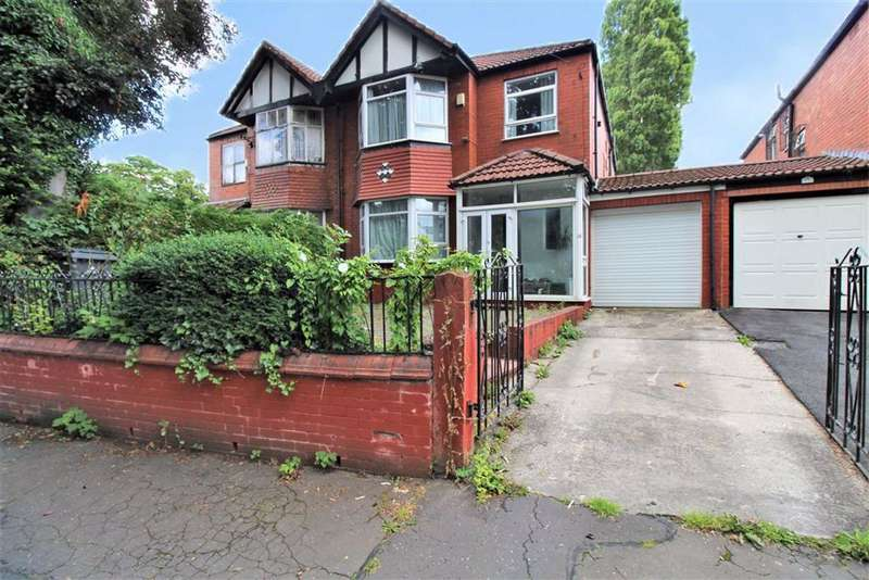 4 Bedrooms Semi Detached House for sale in Park Crescent, Manchester