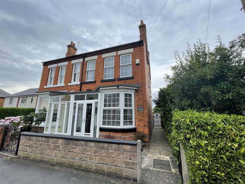 2 Bedrooms Semi Detached House for sale in Beacon View, Knightthorpe Road, Loughborough, LE11 5JR