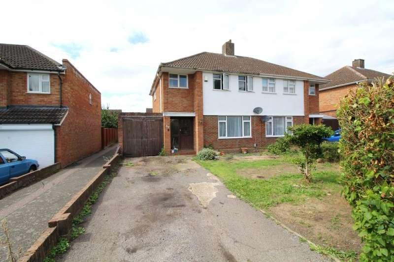 3 Bedrooms Semi Detached House for sale in Larkway, Bedford, Bedfordshire, MK41