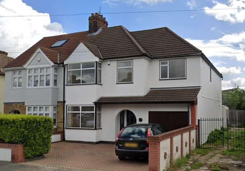 5 Bedrooms Semi Detached House for sale in 14 Elmer Gardens, Rainham, Essex, RM13 7BS