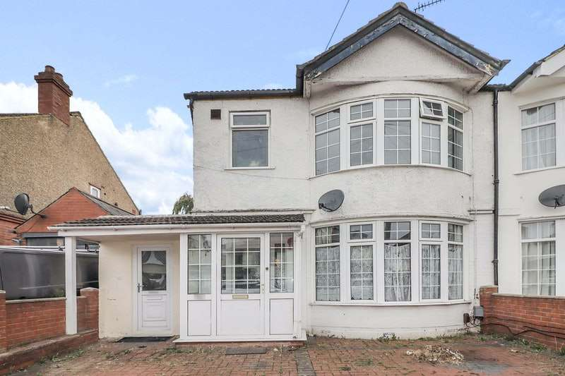 4 Bedrooms Semi Detached House for sale in Bishopscote Road, Luton, London, LU3