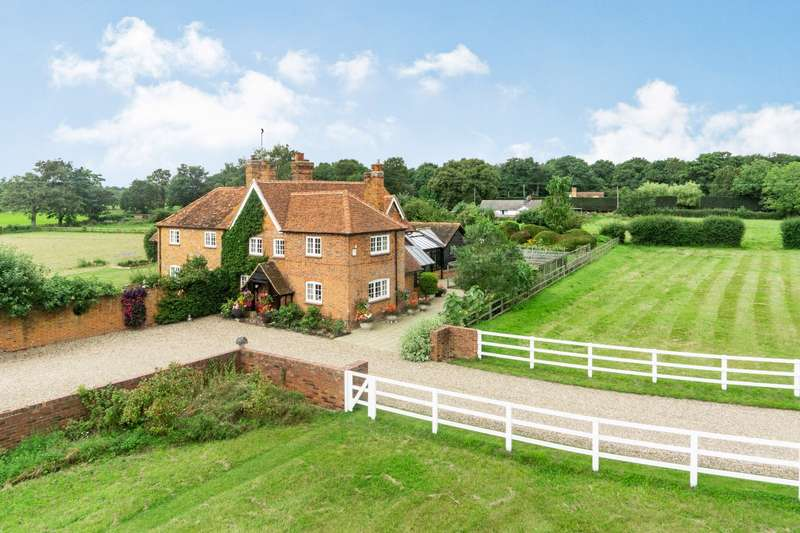 4 Bedrooms Equestrian Facility Character Property for sale in Westley Mill, Binfield, Bracknell, Berkshire