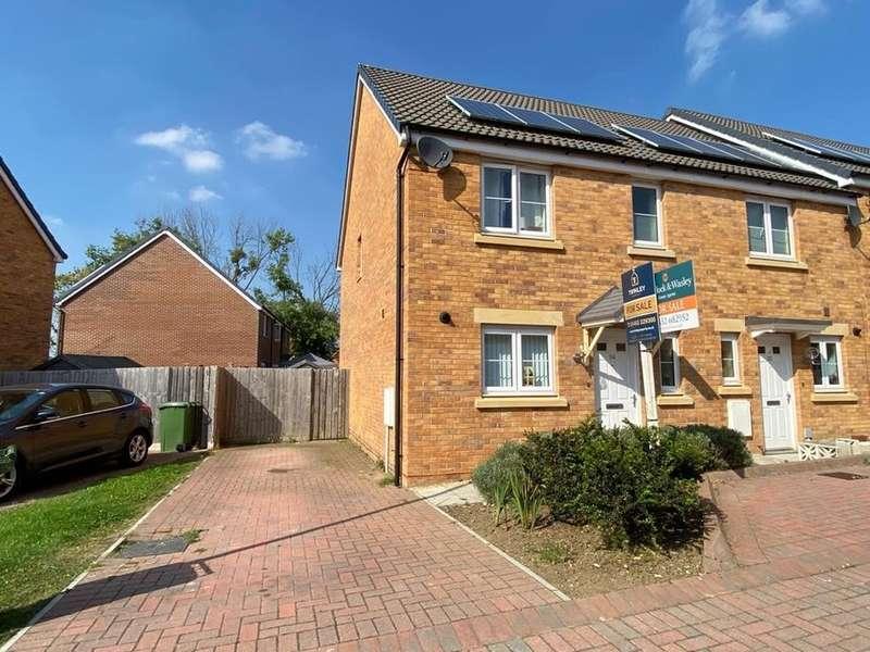 3 Bedrooms End Of Terrace House for sale in Cotton Lane, Brockworth, Gloucester, GL3