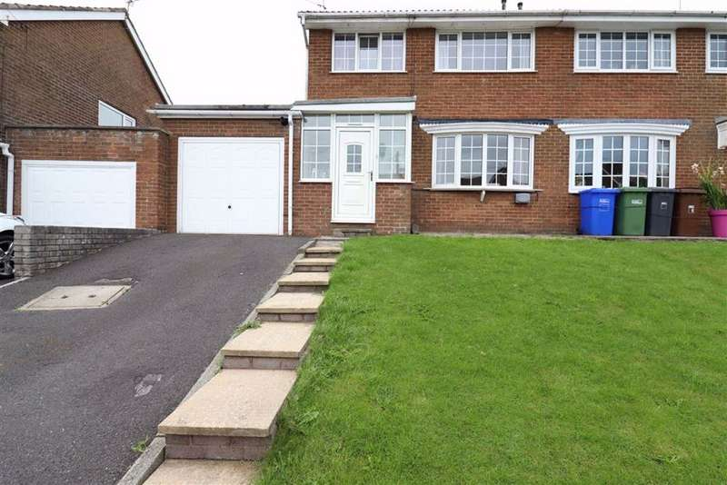 3 Bedrooms Semi Detached House for sale in Long Green, Earby, Lancashire, BB18