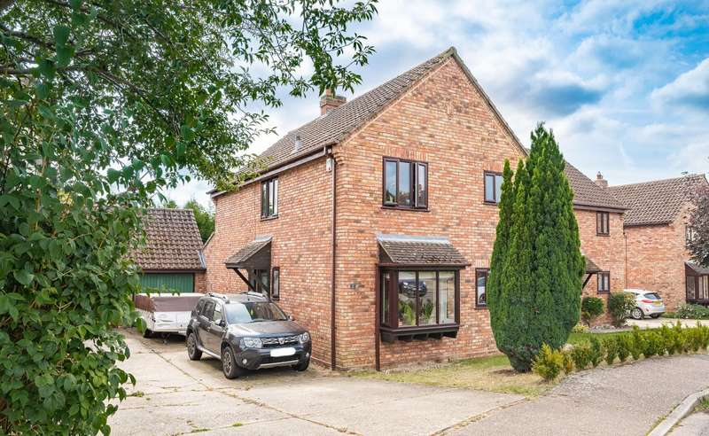 3 Bedrooms Detached House for sale in Little Hyde Close, Great Yeldham, Halstead